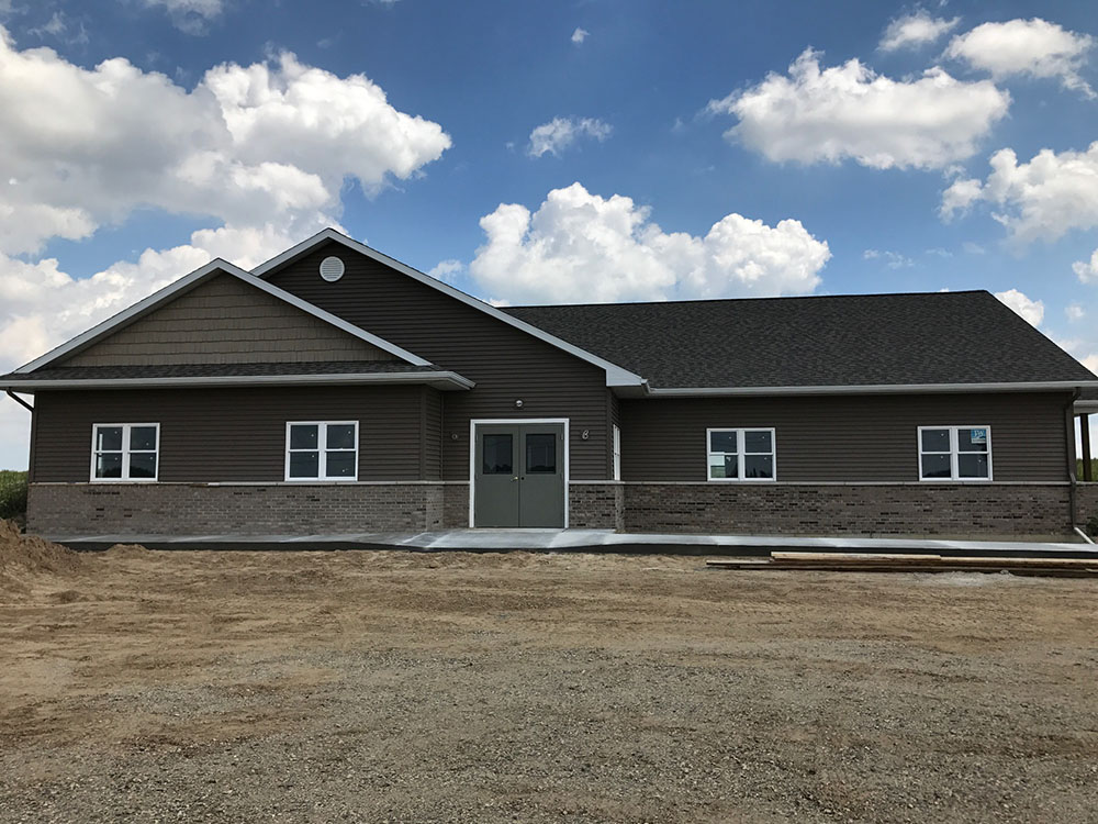 new westphalia township building